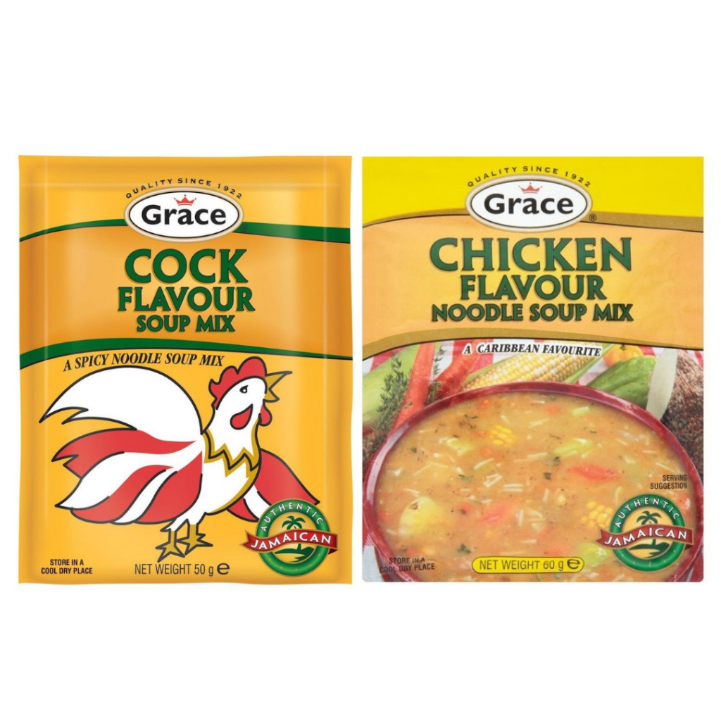 Grace Cock Soup and Chicken Soup Packets
